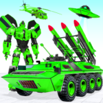 US Army Robot Missile Attack: Truck Robot Games  35 (Mod)