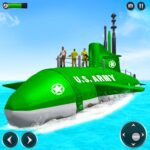 US Army Submarine Driving Military Transport Game 3.6 (Mod)