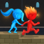 Water & Fire Stickman 3D 2.0.5 (Mod Unlimited thearts)