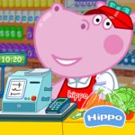 Cashier in the supermarket. Games for kids 1.1.5 (MOD, Unlimited Money)