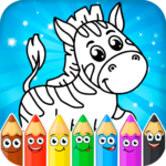 Coloring pages for children: animals 1.1.1 (MOD, Unlimited Money)