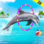 Dolphin Water Stunts Show  1.3.1 (MOD, Unlimited Money)