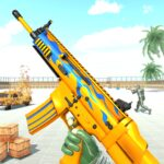 FPS Shooter Games Gun Ops 2021 3.5 (MOD, Unlimited Credits)