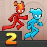 Fire and Water Stickman 2 : The Temple 0.3.4 (Mod Unlimited Subscription)