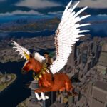 Flying Horse Taxi City Transport: Horse Games 2021 3.2 (MOD, Unlimited Money)