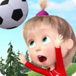 Masha and the Bear: Football Games for kids 1.3.8 (MOD, Unlimited Money)