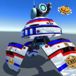 US Police Robot Shooting Crime City Game 3.1 (MOD, Unlimited Money)