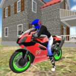 real moto bike racing- police cars chase game 2019 1.13 (MOD, Unlimited Money)