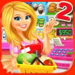 Supermarket Grocery Store Girl 3.8 (MOD, Unlimited Coins)