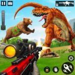 Wild Dinosaur Hunting Attack Varies with device 1.38 (MOD, Unlimited Money)